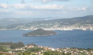 Vistas Ría de Pontevedra. Foto Rúas magazine