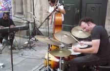 Músicos en la calle. Santiago