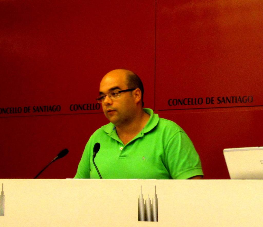 Rubén Cela non será candidato nas vindeiras eleccións municipais de Santiago de Compostela