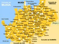 Mapa Muxía