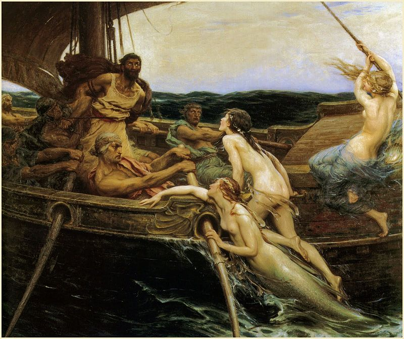 800px-Herbert_James_Draper,_Ulysses_and_the_Sirens,_1909