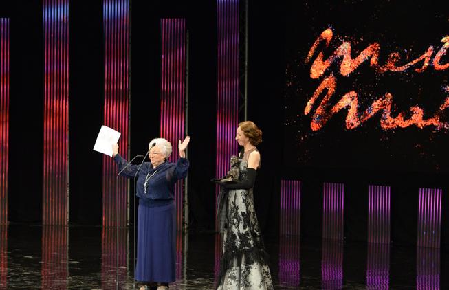 Premio de Honra Fernando Rey 2015 para Fely Manzano.