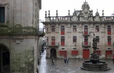 Plaza de Platerías- Santiago de Compostela