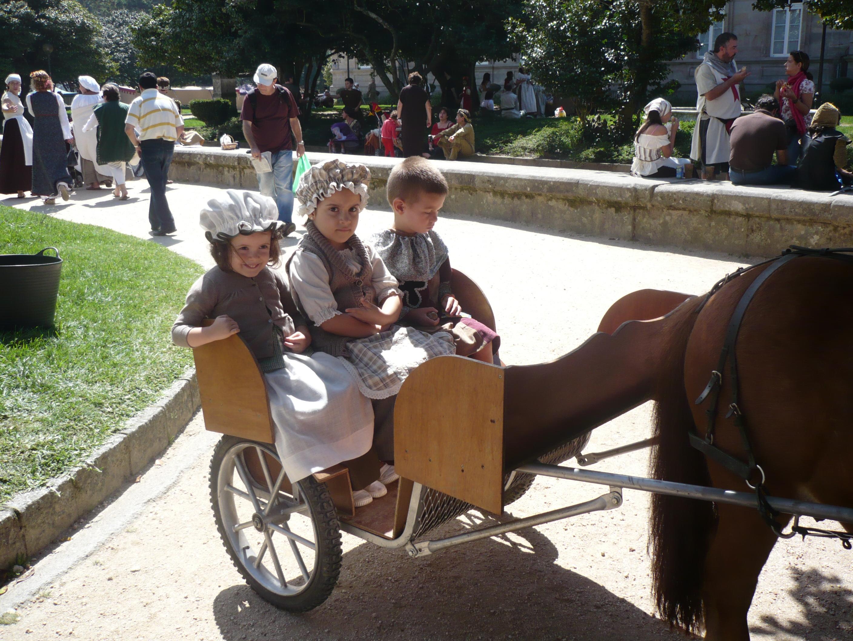 Imitando la historia Feria Franca Pontevedra 2011