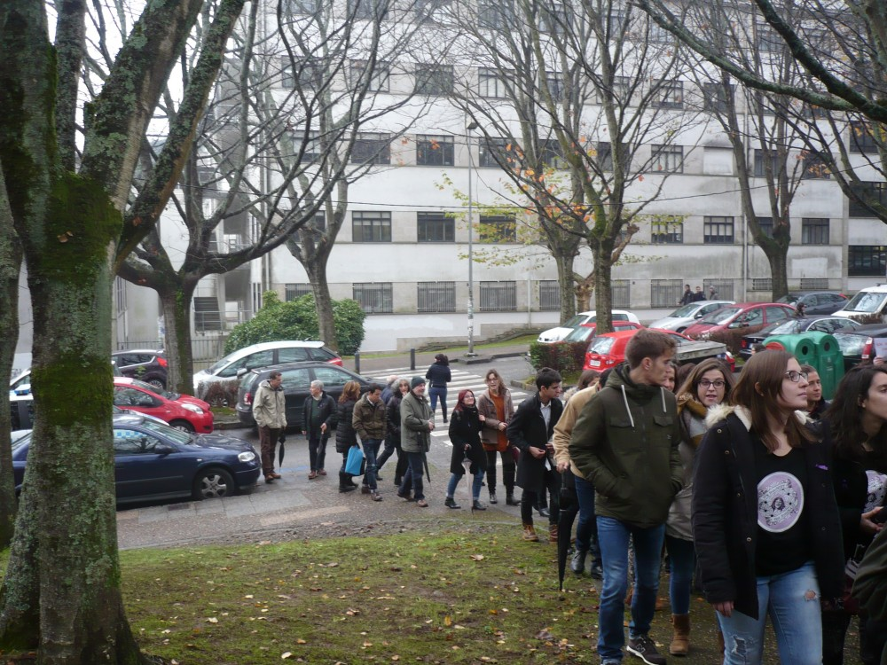 25 de novembro Manifestación Eliminación violencia contra a muller. FOTO. Rúas Magazine (Mariel Norat)