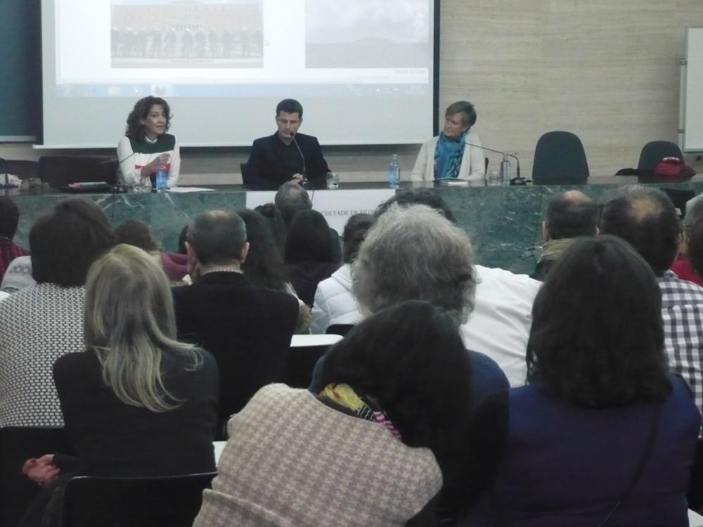 Encontro 'Grecia: crise e democracia' co escritor e helenista Pedro Olalla Facultade de Filoloxía (Santiago)