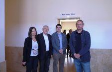 Ciencias da Comunicación inaugurou a Aula 'Nacho Mirás'
