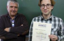 David Mosquera, distinguido co Premio Arquímides