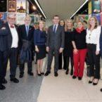 El grupo Terras Gauda festejan la entrega de Premios Francisco Mantecón