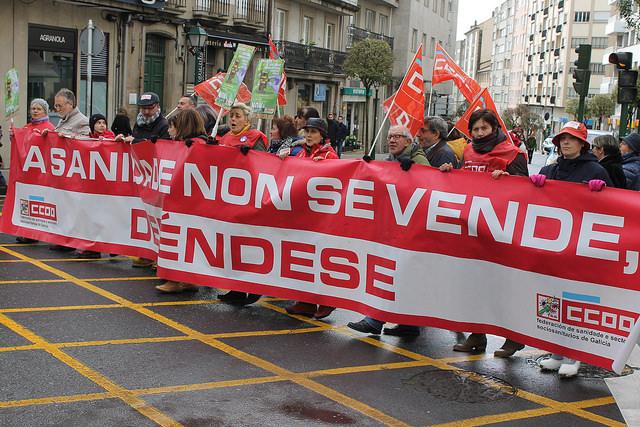 Galicia muestra su repulsa a la reforma de la Ley de Salud Pública