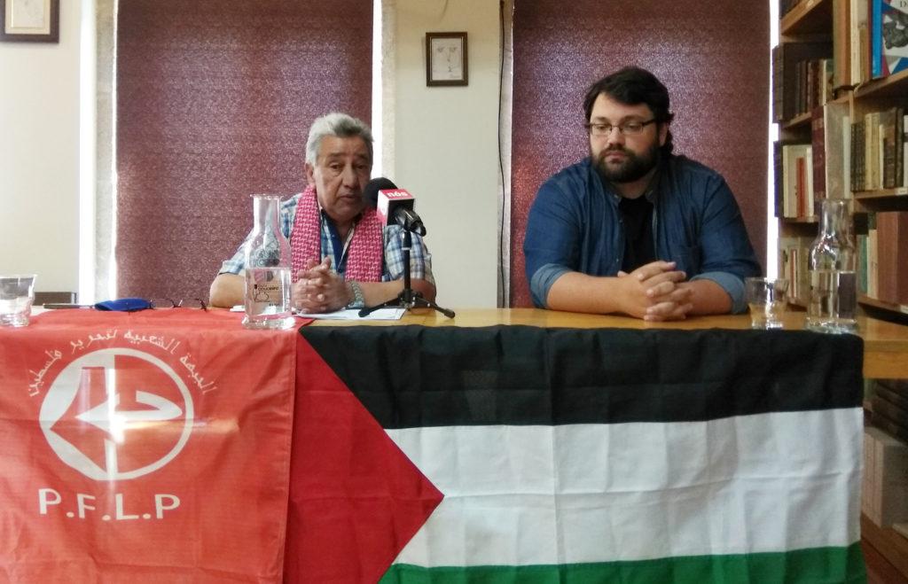 Unha chamada de urxencia; Fayez Badawi, portavoz para Europa do FP para a Liberación de Palestina