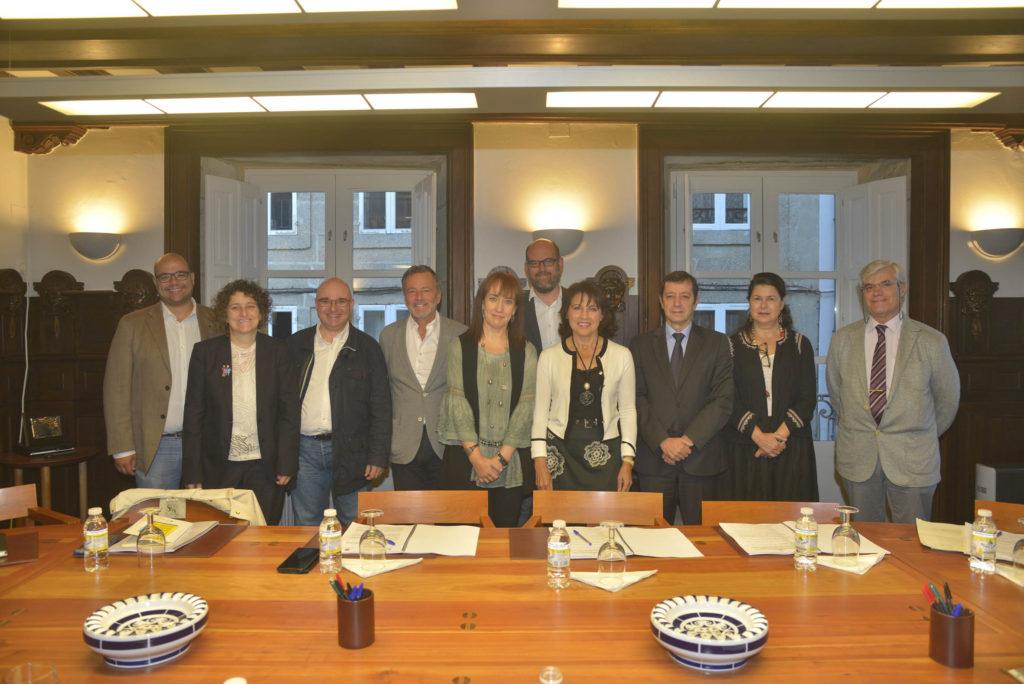 Recoñecemento á labor de Rubén Cela no Consorcio de Santiago