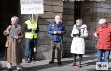 A Plataforma de Pensionistas e Xubilados en Compostela reclaman pensións vinculadas ao IPC