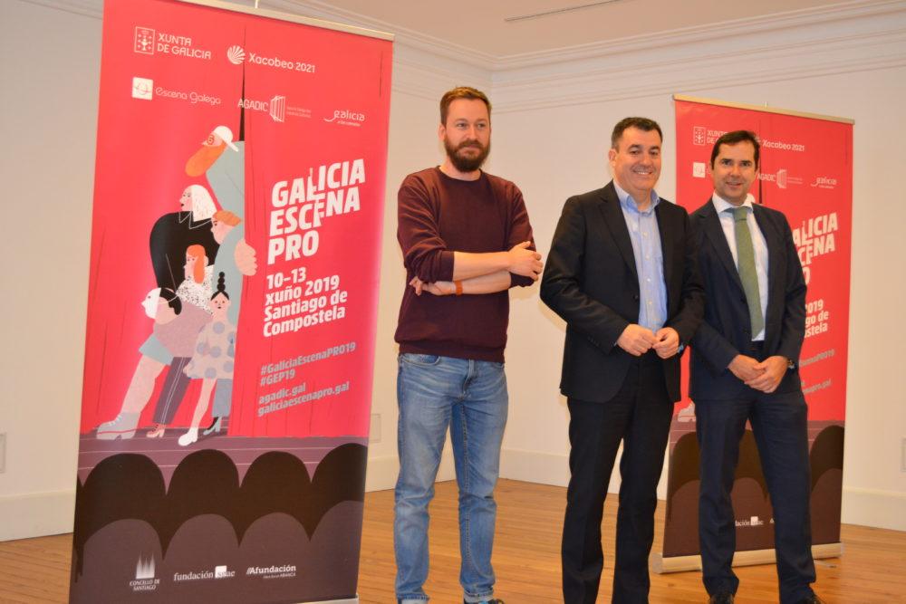 Santiago será escenario teatral o vindeiro luns na nova edición de Galicia Escena PRO