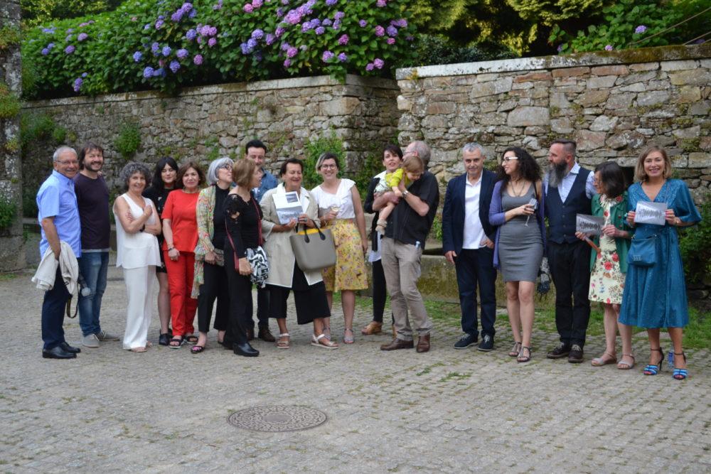 Inauguración do Colectivo  Na Varanda no CGAC